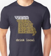 Drink Local - Missouri Beer Shirt T-Shirt