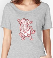 Hello Mr Frog Women's Relaxed Fit T-Shirt