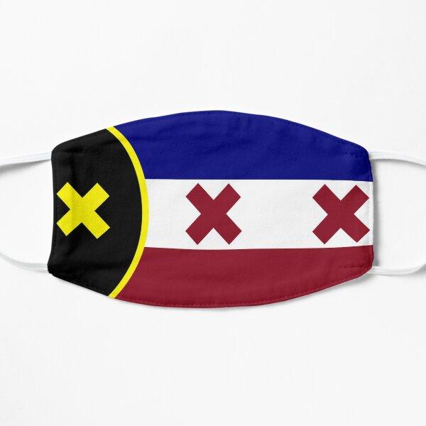 dream smp lmanburg flag Flat Mask