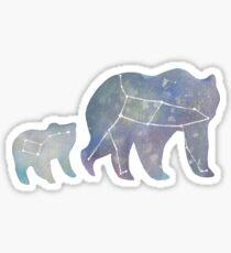 Ursa Major and Minor Sticker