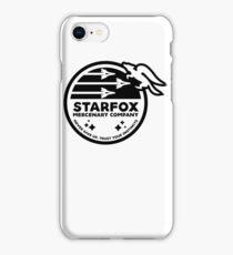 Star Fox Mercenary Patch iPhone Case/Skin