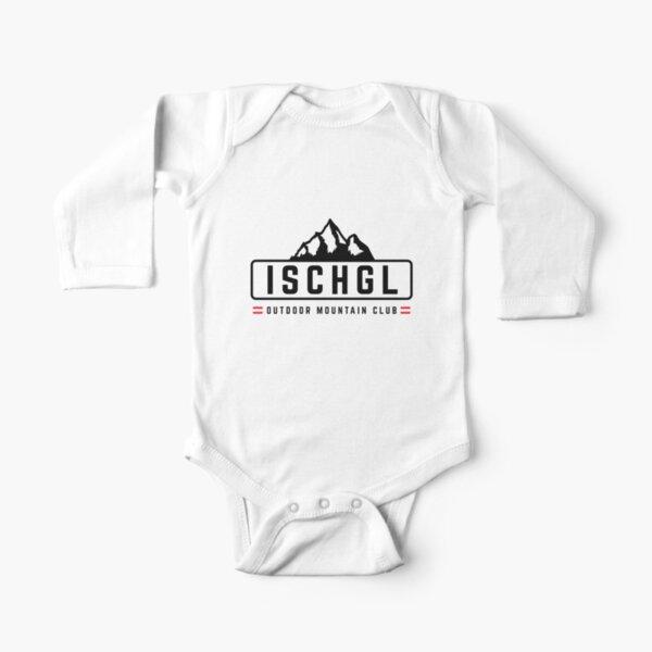 Ischgl im Freien Baby Body Langarm