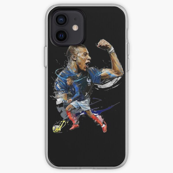 Kylian Mbappe Coque souple iPhone