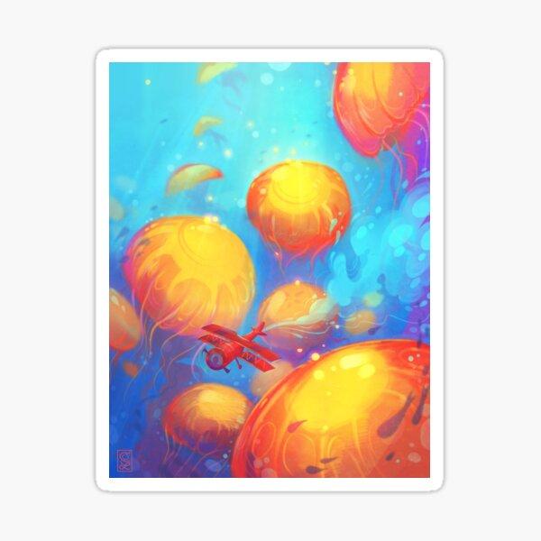 Sea Nettle Dreamland Sticker