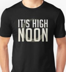 It's High Noon (White/Cream) Unisex T-Shirt