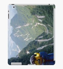 Lego Backpacker in Tianmen Mountains iPad Case/Skin
