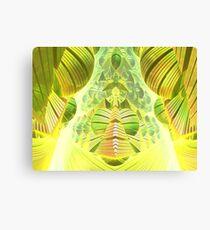 Neon Green Ocean Liner  Canvas Print