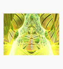 Neon Green Ocean Liner  Photographic Print