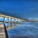Roosevelt Bridge East by Noble Upchurch