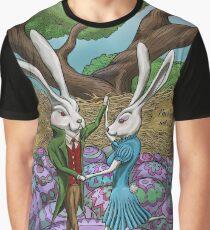 Dancing Bunnies Graphic T-Shirt