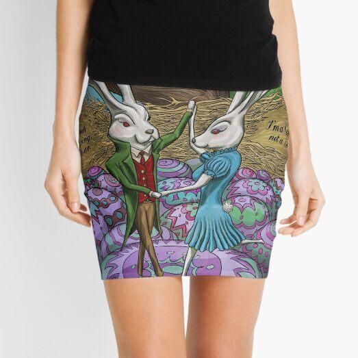 Dancing Bunnies Mini Skirt
