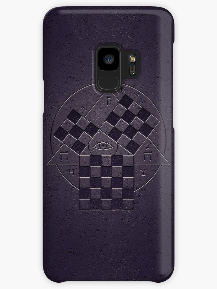 Seele Symbol From Neon Genesis Evangelion Cases Skins For Samsung