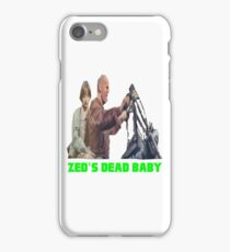 Pulp Fiction - Zed's Dead Baby iPhone Case/Skin
