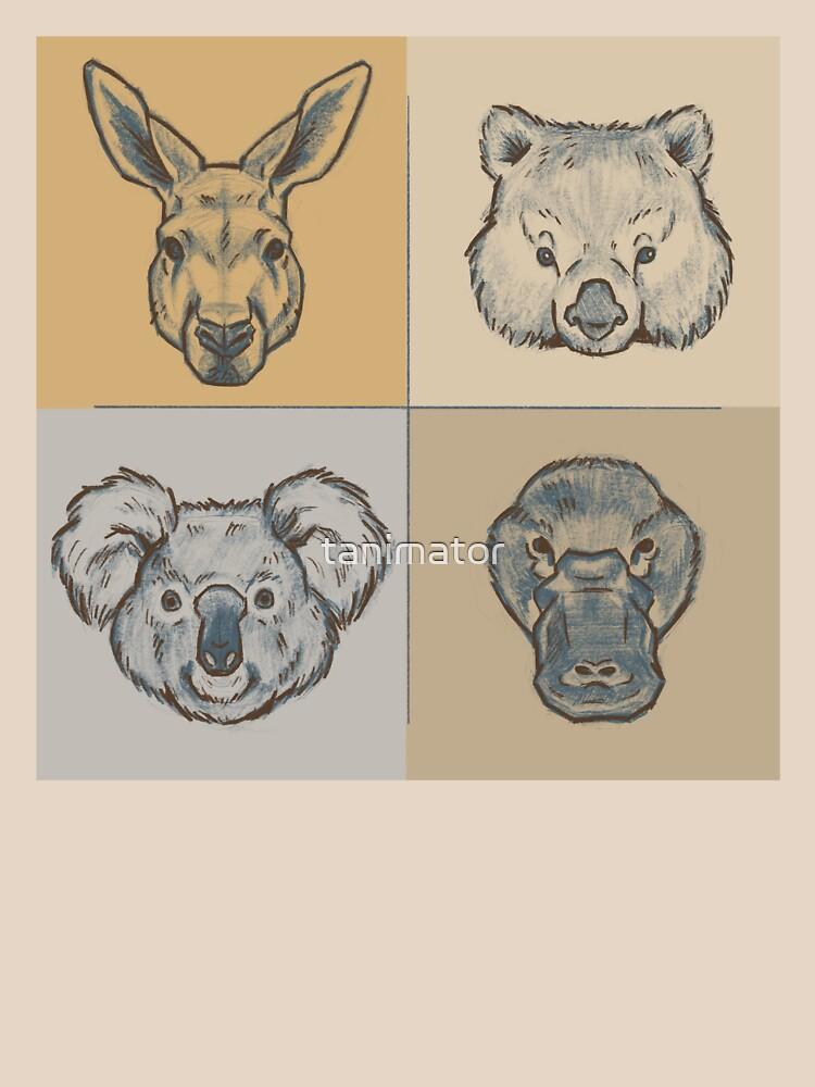 Australian Animals by tanimator
