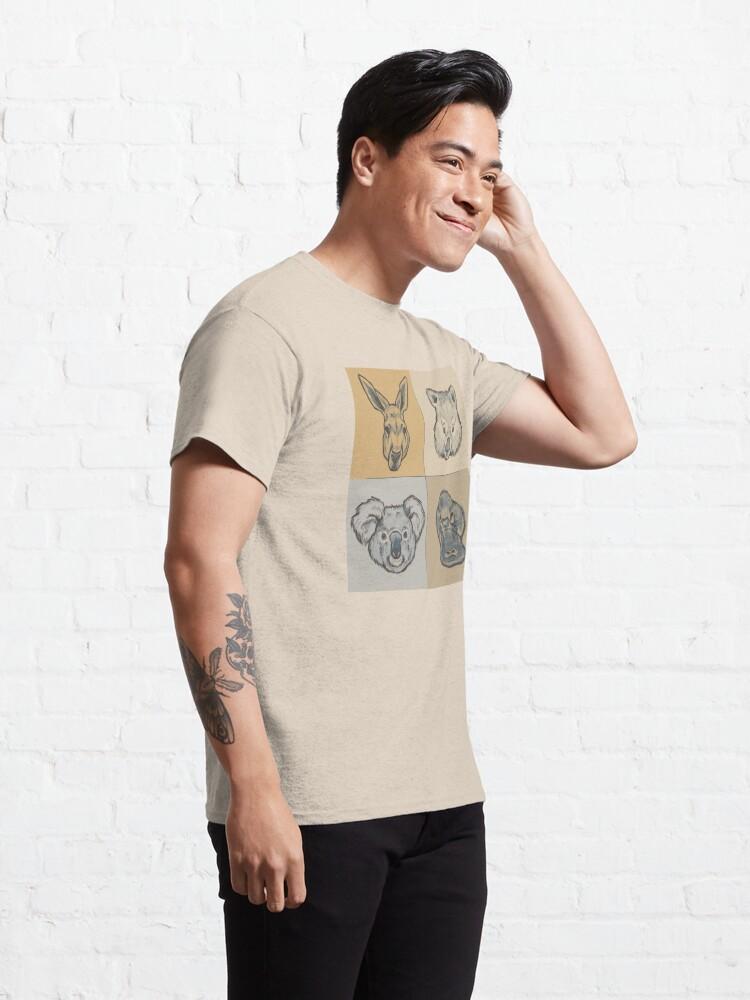 Alternate view of Australian Animals Classic T-Shirt