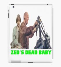 Pulp Fiction - Zed's Dead Baby iPad Case/Skin