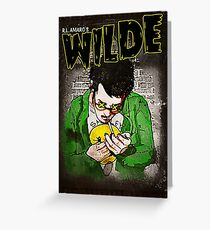 R.L. Amaro's WILDE (Graphic Novel Cover) Greeting Card