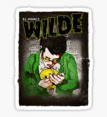 R.L. Amaro's WILDE (Graphic Novel Cover) Sticker