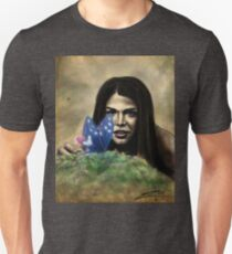 Octavia and the Butterfly (full color) Unisex T-Shirt