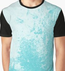 Earth Sweat Design (Shakespeare Blue Color) Graphic T-Shirt