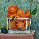 tangerines by Marianna Tankelevich