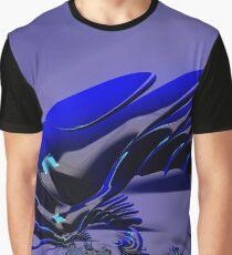 Chameleon Blue Graphic T-Shirt