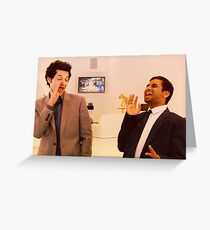 Jean-Ralphio and Tom Greeting Card