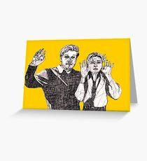 Blumquists Surrender Greeting Card