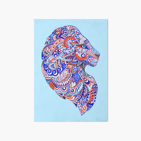 lion cub leo lioness cat Kitty king panther Art Board Print