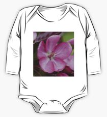 pink apple tree blossoms One Piece - Long Sleeve