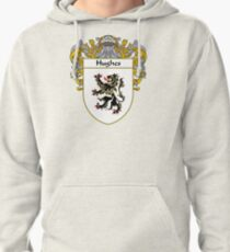 Hughes Coat of Arms/Family Crest Pullover Hoodie
