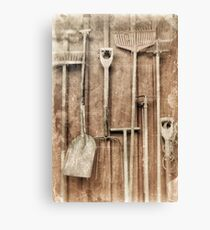 Working Tools Canvas Print