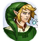 Grown up Link and Navi by Figment Forms