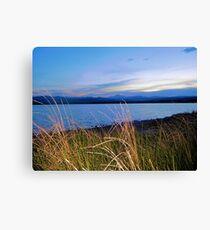 Lake McIntosh Longs Peak  Canvas Print