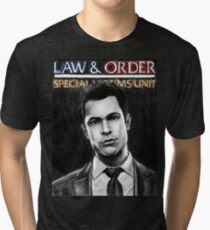 Nick Amaro from Law and Order svu Tri-blend T-Shirt