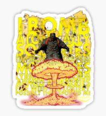 Wu Tang Sticker