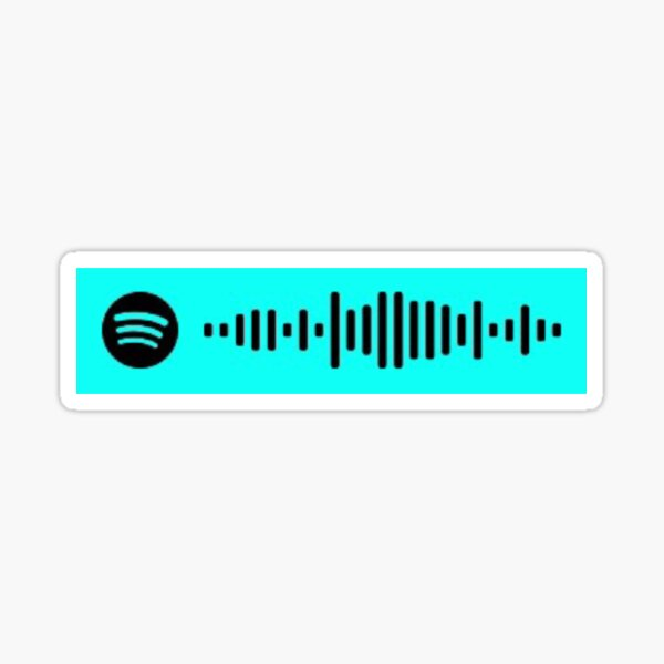 Justin Beiber - Peaches (Justice Album) spotify code Sticker