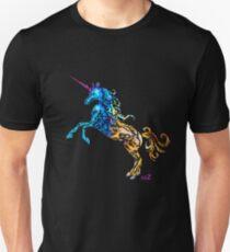 Flaming Unicorn Unisex T-Shirt