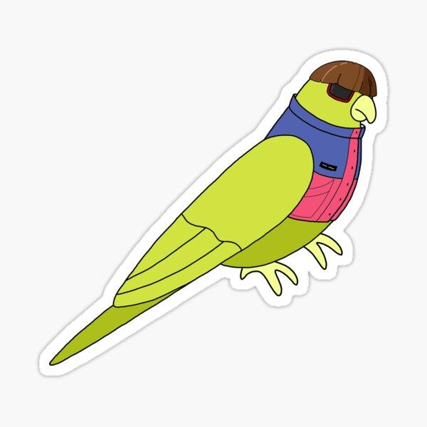 Oliver Tree Bird Sticker