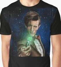 11th Doctor Caricature  Graphic T-Shirt