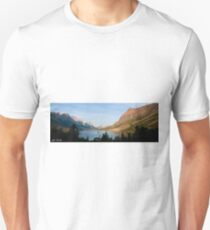 Saint Mary Lake and Wild Goose Island Unisex T-Shirt