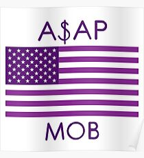 Póster ASAP MOB of America