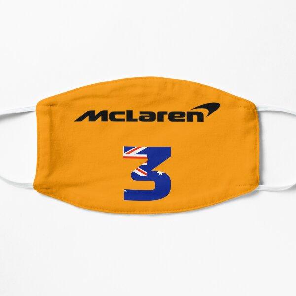 Daniel Ricciardo - Équipe McLaren F1 Masque sans plis
