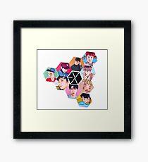 EXO Framed Print