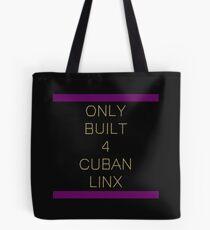Only Built 4 Cuban Linx Tote Bag