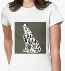 Direwolves Women's Fitted T-Shirt