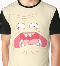 RICK AND MORTY SCREAMING SUN AAAAHHHHHH Graphic T-Shirt
