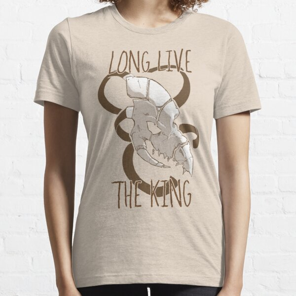Long Live The King - Sand Essential T-Shirt
