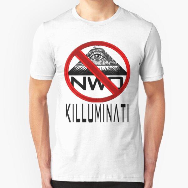 Killuminati - Anti Illuminati / New World Order Slim Fit T-Shirt