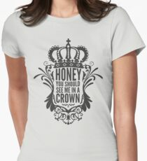 In A Crown - Deluxe Edition Womens Fitted T-Shirt